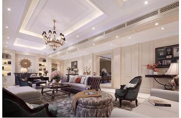 艺术性与舒适度并重!欧式沙发搭配地毯