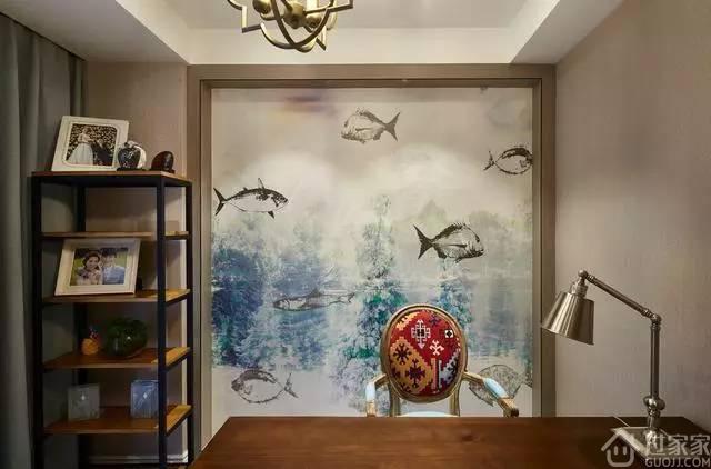 120平的现代风格居室,全靠装饰元素撑起全场