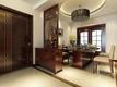 90平新中式风格三居室欣赏
