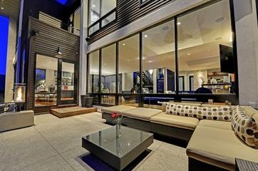现代风格装饰别墅套图庭院设计