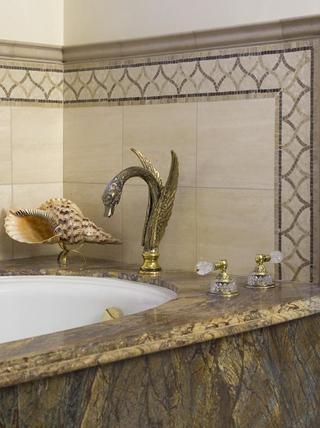 豪华法式风格装饰套图浴缸五金