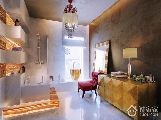 豪华现代梦幻住宅欣赏卫生间设计