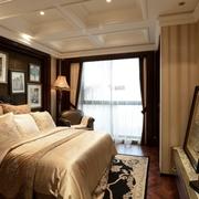 美式卧室吊顶设计效果图 时尚典雅家居