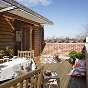 最质朴的美式乡村欣赏阳台