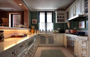 混搭时尚风情住宅欣赏厨房效果