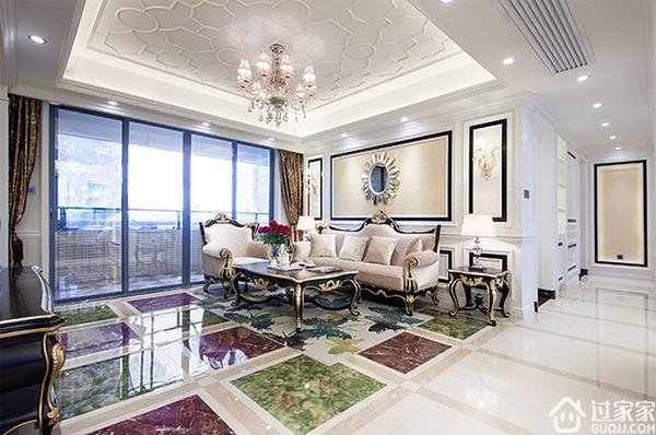 营造出温馨雅致的家庭氛围 搭配好欧式风格墙面颜色就有效果了