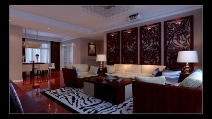 中式风格住宅装饰效果套图
