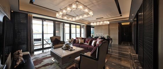 客厅吊顶装修效果图 时尚现代简约风