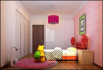 中式风格舒适两居欣赏儿童房