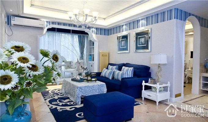 79平蓝色地中海住宅欣赏
