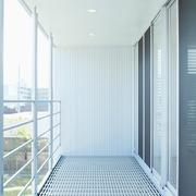 117平日式风格别墅欣赏阳台