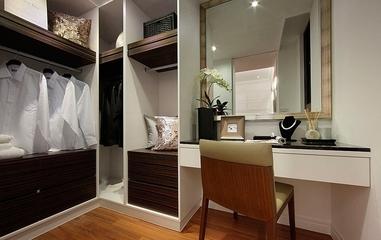 115平简约三居室案例欣赏衣帽间衣柜
