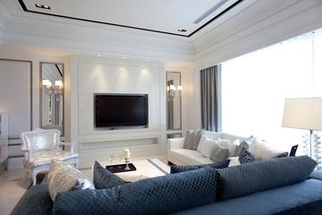 客厅电视背景墙装修效果图 时尚大气上档次