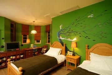 绿色环保美式住宅欣赏卧室