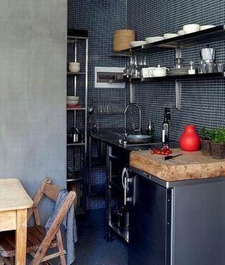色调经典简约住宅欣赏厨房