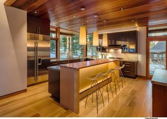 美式风格住宅赏析厨房吧台