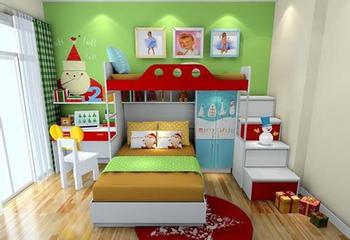 儿童房设计方案和需要注意的事项