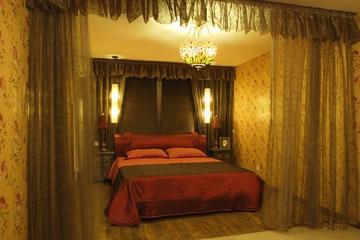 东南亚风格住宅欣赏卧室灯饰