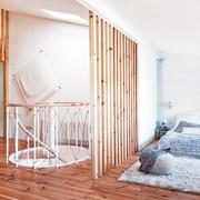 老房改造简约三居室欣赏卧室效果