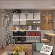 现代精致住宅储物架