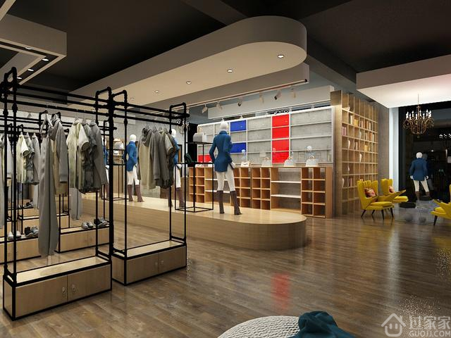 工业风格服装店装修,个性十足,让人眼前一亮!
