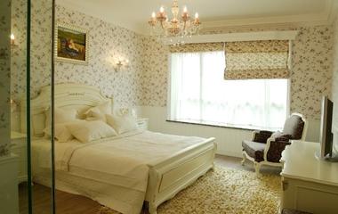 米色田园风住宅欣赏卧室