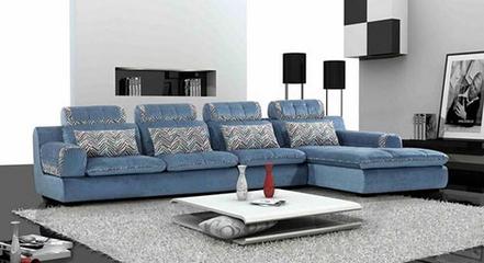 布艺转角沙发的分类与材质特点