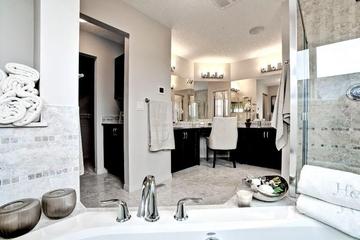 新古典别墅设计套图卫生间全景