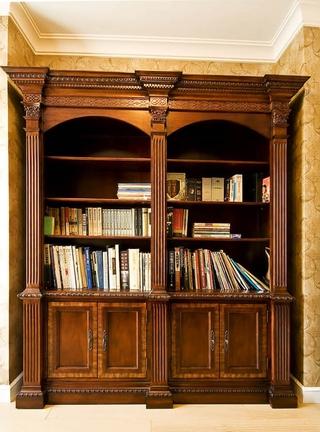 115平混搭三室两厅欣赏书房效果
