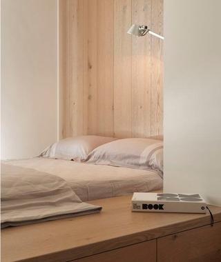 125平时尚简约家居欣赏卧室设计