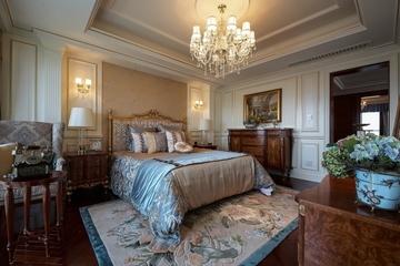 法式奢华住宅欣赏老人房