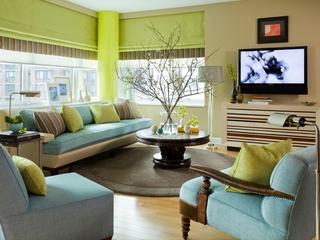田园绿色两居室欣赏