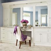 145平实用简欧复式欣赏洗手间