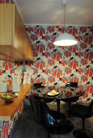 88平简约装饰效果图欣赏餐厅