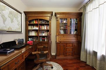 曼妙时光美式住宅欣赏书房效果