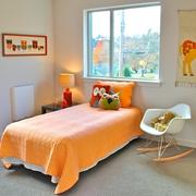 简约温馨小户型别墅设计卧室效果