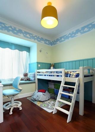 混搭三室两厅效果欣赏儿童房效果图