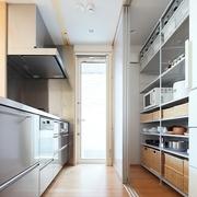 67平日式风格别墅欣赏厨房效果