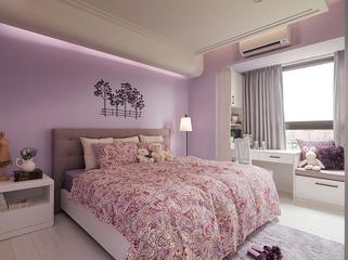 92平温馨田园住宅欣赏卧室