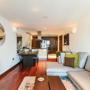 现代简约风格客厅设计效果图