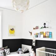 素色不失文艺的简约公寓欣赏儿童房