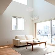 89平日式风格别墅欣赏客厅