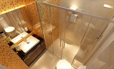 简约温馨三居室效果欣赏洗手间