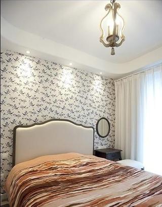 白色地中海家居住宅欣赏卧室