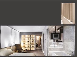 现代风格套图卧室全景