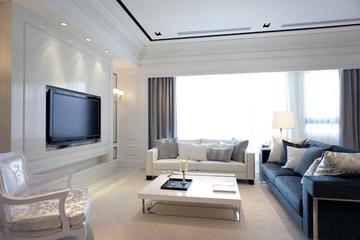 客厅窗帘装饰效果图 极美空间