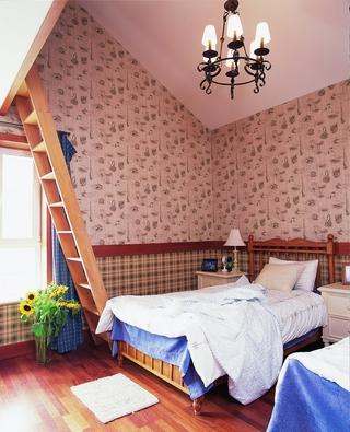 185平东南亚住宅欣赏卧室效果