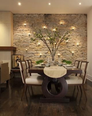 温馨婚房装修两居室欣赏餐厅