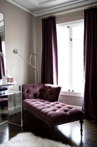 混搭风格四居效果图欣赏卧室局部设计