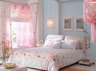 简约春天气息住宅欣赏卧室灯